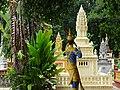Cemetery at Wat Maha Leap Temple - Near Kampong Cham - Cambodia - 01 (48362673066).jpg