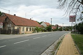 Center of Říčky, Brno-Country District.JPG