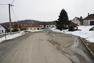 Hroznatín - Center of Hroznatín