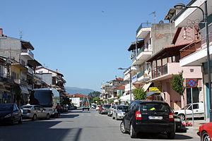 Kato Nevrokopi - Central streets of Kato Nevrokopi
