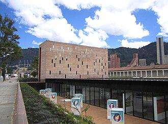 Colombian conflict - Image: Centro de Memoria Histórica Bogotá