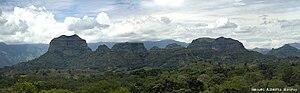 Ortega, Tolima - Image: Cerro de los Avechucos