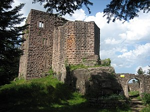 Ottrott - Ruins of the Château du Birkenfels