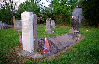 White County, Tennessee - Grave of Confederate bushwhacker Champ Ferguson near Sparta