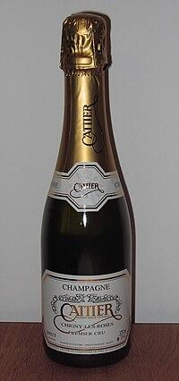 One Eine Flasche Champagner