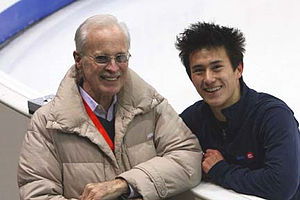 Don Laws - Laws with Patrick Chan in 2007