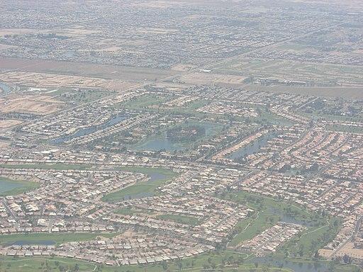 Chandler Arizona aerial