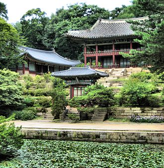 South Korea - Changdeok Palace, one of the Five Grand Palaces built during the Joseon Dynasty and a World Heritage Site