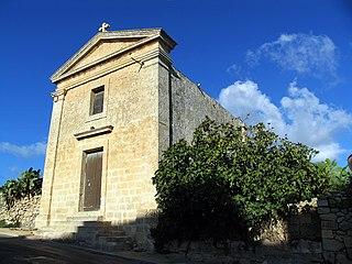 Chapel of St Domenica, Dingli Church in Dingli, Malta
