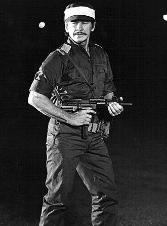 Charles Bronson - Bronson as Dan Shomron in Raid on Entebbe (1977)