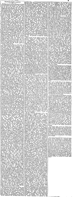 The Times/1882/Obituary/Charles Darwin - Wikisource, the
