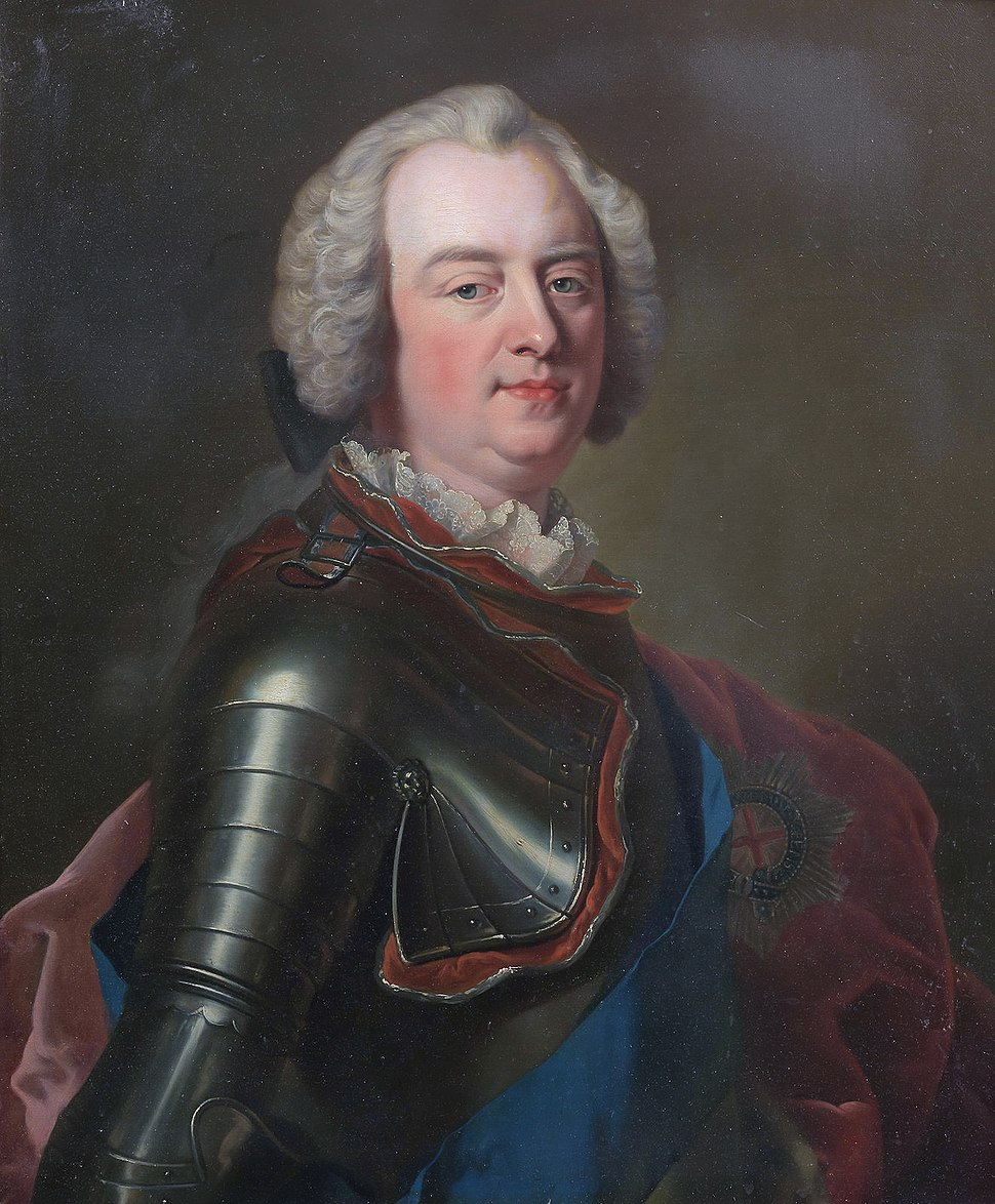Charles Lennox, 2nd Duke of Richmond, by circle of Jean Marc Nattier