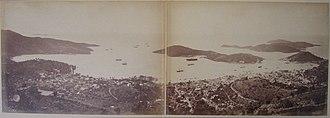 History of the United States Virgin Islands - Image: Charlotte Amalie Panorama