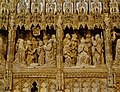 Chartres Cathédrale Notre-Dame de Chartres Innen Chorschranke 13.jpg