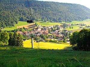 Val-de-Travers - Chasseron village