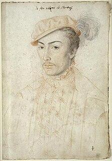 François de Vendôme, vidame de Chartres French soldier and courtier