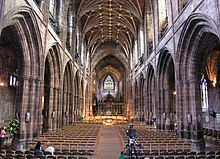 Nave of Chester Cathedral