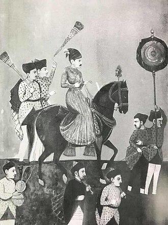 Rajaram I - Image: Chhatrapati Rajaram