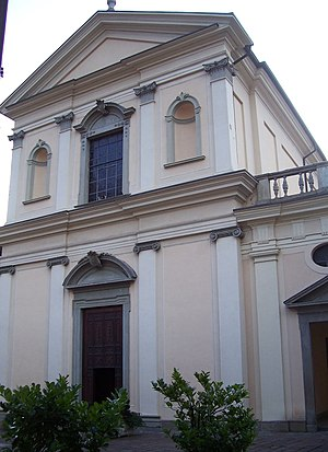 Capo di Ponte - Parish church of St Martin