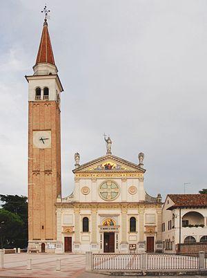 Mogliano Veneto - Church of Santa Maria Assunta, in the centre of the town