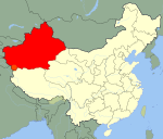 China Xinjiang.svg