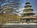 Chinesischer Turm, Englischer Garten, München - panoramio.jpg