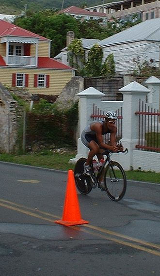 Chris McCormack (triathlete) - Chris McCormack at Ironman 70.3 Saint Croix