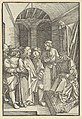Christ before Herod in a Hall, from Speculum passionis domini nostri Ihesu Christi MET DP848950.jpg