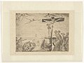 Christ in Agony Tormented by Demons, print by James Ensor, 1895, Prints Department, Royal Library of Belgium, S. II 79742.jpg