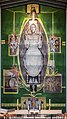 Christ in Glory tapestry by Graham Sutherland in Coventry Cathedral.jpg