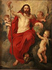 le Christ triomphant de la Mort et du Péché
