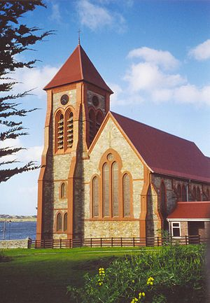 East Falkland - Christchurch Cathedral in Stanley
