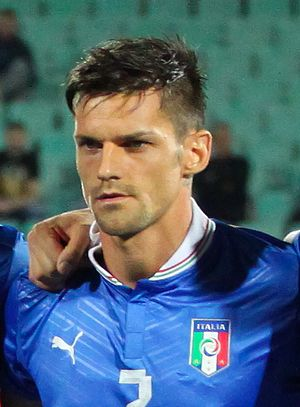 Christian Maggio - Maggio with Italy in 2012