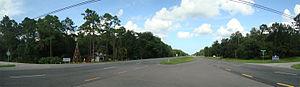 Christmas, Florida - Image: Christmas panorama