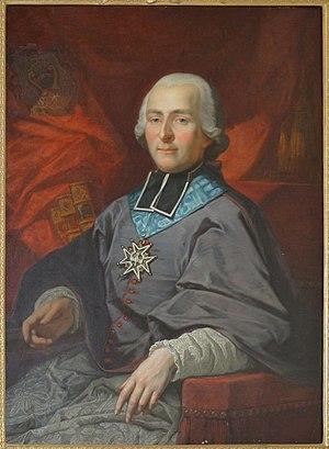 Christophe de Beaumont - Portrait of Christophe de Beaumont.