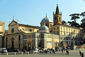 English: Church Santa Maria del Popolo in Roma...