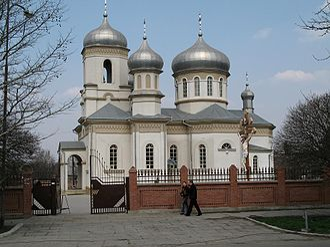 Anenii Noi District - Church of St. Dumitru, city of Anenii Noi
