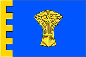 Chvalíkovice - Image: Chvalíkovice flag