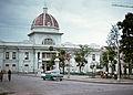 Cienfuegos wahrscheinlich istorisches Museum am Jose Marti Park 1973 PD.jpg
