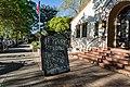 City Hall Tavern Sidewalk Sign - Davis, California - Drake Lyrics (25455214584).jpg