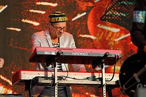Clarence Öfwerman - Öfwerman at the Bospop festival in Weert, The Netherlands, 9 July 2011
