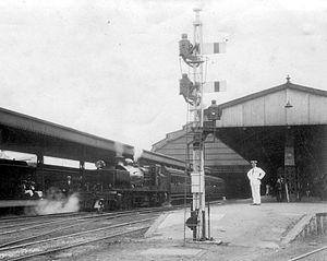 South African Class GC 2-6-2+2-6-2 - Image: Class GC Durban 1924