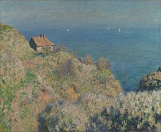 Varengeville-sur-Mer - La maison du douanier de Varengeville (Customs officer's house), by Monet, 1882