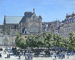 Claude Monet Saint-Germain-l'Auxerrois Paris 1867.jpg