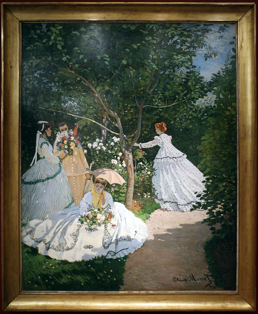 File Claude Monet Donne In Giardino 1866 Ca 01 Jpg