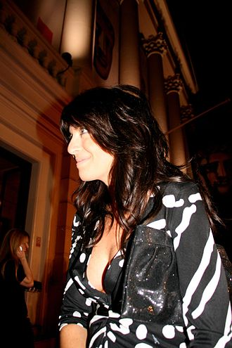 Claudia Winkleman - Winkleman at the 2008 BAFTA Television Awards