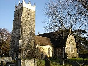 Claydon, Suffolk - Image: Claydon Church of St Peter