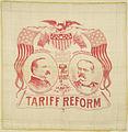 "Cleveland-Stevenson ""Tariff Reform"" Portrait Handkerchief, 1892 (4360185242).jpg"