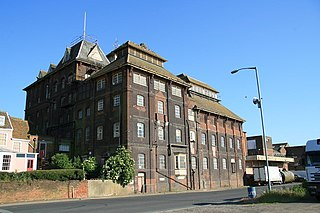 Cliff Brewery brewery building in Ipswich, England