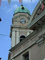 Clock tower, Cathedral of St. Mary the Crowned, Main Street, Gibraltar.jpg